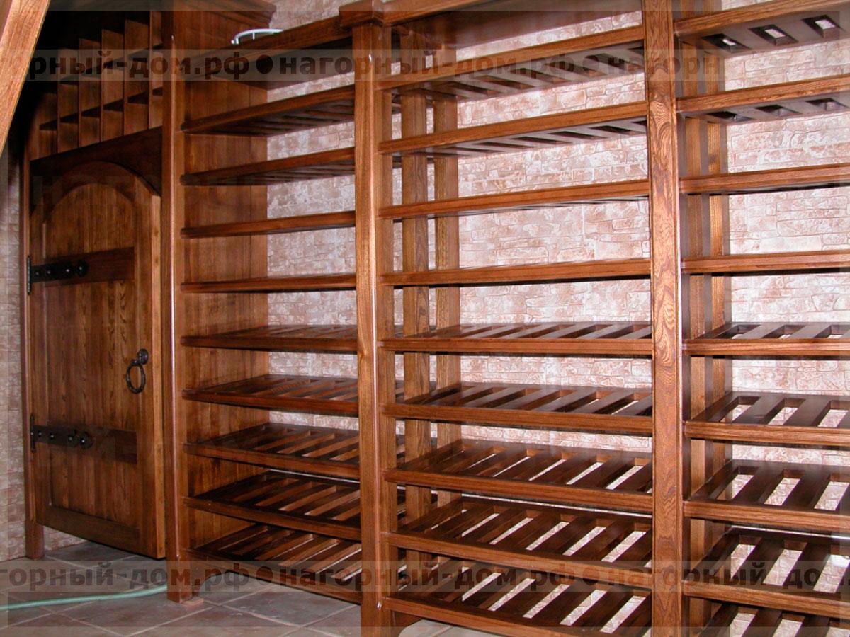 Винная комната производство и проектирование винных шкафов